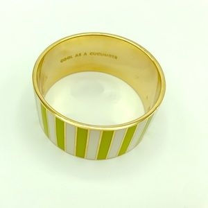 Kate Spade idiom bangle - Cool as a Cucumber